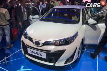 Auto Expo 2018: Toyota Yaris Premium Sedan Unveiled in India