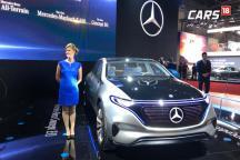 Auto Expo 2018: Mercedes-Benz Showcases Concept EQ All-Electric Vehicle