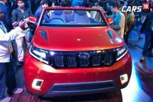 Mahindra TUV Stinger Concept Convertible SUV First Look at Auto Expo 2018