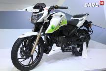 Auto Expo 2018: TVS Showcases Apache RTR 200 Fi Ethanol, Focused to Reduce Carbon Monoxide Emissions