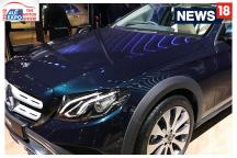 Auto Expo 2018: First Look of Mercedes Benz E Class All Terrain