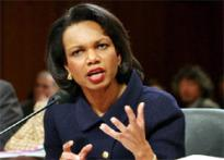 Rice downplays India's Iran links