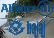 Bajaj Allianz net 10 pc up despite flood
