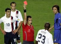 Referees acting tough a good sign: FIFA