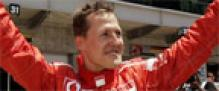 Pole for Schumacher at Indianapolis