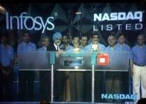 Infosys rings NASDAQ opening bell