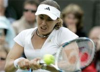 Rain spoils Hingis-Ivanovic final