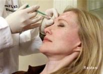 Botox injection heals facial wound faster
