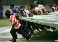 Team India's practice game washed out