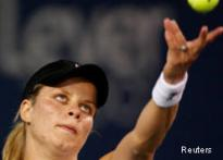 Clijsters downs a deflated Hingis