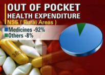Most Indians can't afford healthcare
