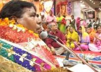 Muslim <i>qawals</i> sing at Navratras