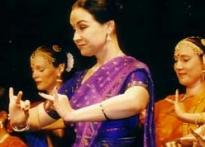 Austrian Radha dances to Indian tunes