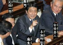 Abe, 52, is Japan's youngest PM
