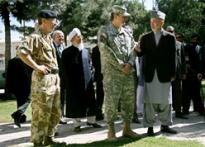 NATO takes command in Afghanistan