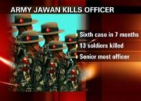 Yet again,  jawan kills Army officer