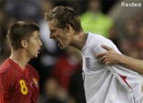 Struggling England held by Macedonia