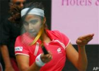 Sania helps India blank China 3-0