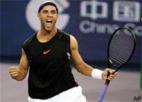 Blake blazes past Nadal in Masters Cup