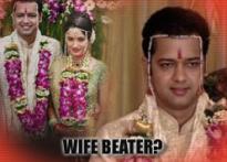 Is Rahul Mahajan a wife-beater?