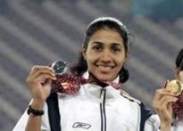 Anju missed gold due to 'hurt leg'