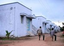 Tsunami victims await new homes