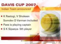 India name Davis Cup team for Uzbek tie