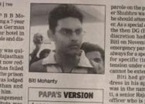 Biti case: Orissa DGP gets govt notice