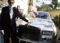Big B gifted Rs 3.5 cr Rolls Royce