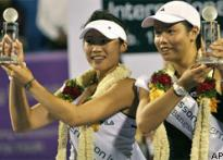 Chinese Taipei girls win doubles title