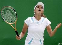 Sania crashes out of Pattaya Open