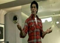 SRK all set to get waxed in London