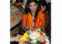 Shilpa Shetty in a religious role