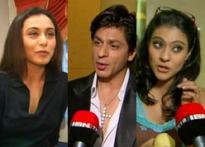SRK, Kajol, Rani meet for 'Koffee'