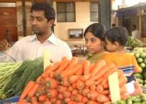 B'lore vegetable prices go for a toss