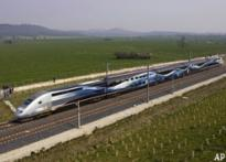 Oui! French train races at 574.8 kph