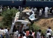 Bus hits train in Tamil Nadu, 11 killed