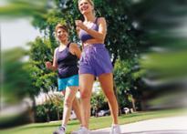 Long walks ease menopause symptoms