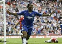 Drogba wins FA Cup final for Chelsea