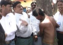 Agra lawyers beat, tonsure boy in court