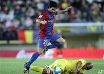 Deco injury threatens Barca title hopes