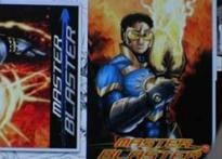 Sachin turns comic book superhero