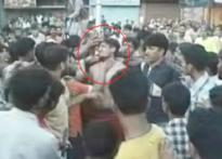 Jawans attempt rape, paraded naked
