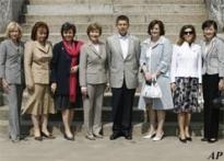 G8 leaders' spouses to hold a 2nd summit