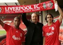 Liverpool sign Babel, Benayoun and Voronin