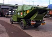 Army cries foul over Mumbai's garbage trucks