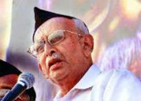 RSS chief Sudarshan admitted to hospital