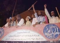 Lal Masjid: Pak forces blow holes in complex walls