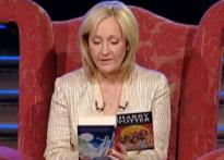 Rowling reads out chapter of book to London fans