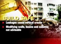What causes buildings to collapse?